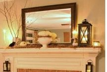Mantel Decorating Ideas / by Christina Kelly