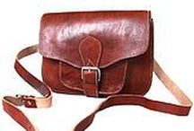 Leather / Vintage and handmade products made from leather.