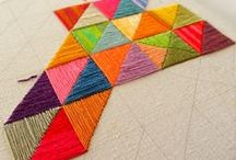 n e e d l e  +  t h r e a d / For the love of the thread. Embroidery inspiration, patterns and tutorials
