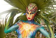 Body Art - Painting / by Christina Kelly|MakeUpTherapy Plus