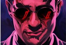 Daredevil / Not only do I love the new show on Netflix, I love the comics, too.