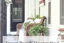 Porches / Ideas & inspiration for decorating porches