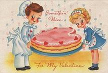 Cards~Vintage Valentines / by Debra Hutchinson