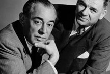 Rodgers and/or Hammerstein Musicals / Musicals by Richard Rodgers and Oscar Hammerstein Jr. together and with other collaborators before and after their  heyday. / by R!cårdo Råfael