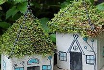 Fairy Gardens & Houses  / How to start your fairy garden, cute fairy house projects and other magical ideas!