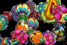 Lampwork Beads / These beads are stars in and of themselves. Some are already strung on bracelets or necklaces in the pictures, but enjoy them as separate entities... / by Nel Barner