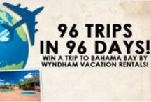 96 Trips in 96 Days! 2014 / 96 Trips In 96 Days is here!!! Listen every hour 8am-5pm to text to win to qualify for the daily trip to Bahama Bay by Wyndham Vacation Rentals …More than just a hotel! Listen to Buster at 6pm to hear if you're the daily winner! | Wired by: Brought to you by VISIT FLORIDA.COM | Find the warmer side of winter at VISITFLORIDA.COM | #wired965 #96trips96days / by Wired 96.5