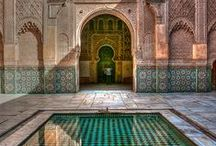 travel | morocco / a curated travel inspiration board focusing on morocco and moroccan cities - if aphrodite chills at home in cyprus for most of the year, then fez must be the goddess's playground | raquel cepeda
