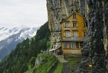 travel | switzerland / a curated travel inspiration board focusing on switzerland & swiss cities