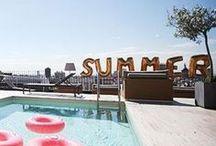 theme | summertime / a seasonal mood board dedicated summer