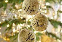 Christmas Ornaments~Glass / by Debra Hutchinson