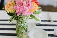 Beautiful Table Settings / Beautiful table settings and tablescapes for Holidays and Every day. / by Laura Trevey