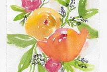 Bright and Beautiful Art / Watercolor paintings and prints by Laura Trevey  www.lauratrevey.com
