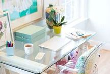 Home Offices / A place to share home office and studio designs. Get your creative juices flowing! / by Laura Trevey