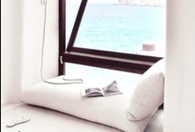 I N T E R I O R S . Nooks + Window Seats.