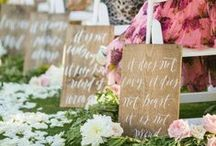 Decor Elements / Where pretty little things come to hang out and inspire brides.  Each little detail is squirreled away for its perfection in whimsy, drama, sophistication, & class.  Its the little things that shape & print the bigger picture. / by Storyboard Wedding