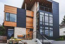 Tendances Architecturales / Découvrez les tendances architecturales moderne, classique, contemporaine au Québec et partout dans le monde.