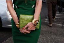 C O L O R . Shades of Green .