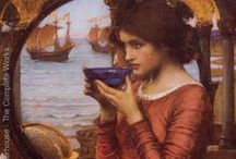 John Waterhouse / My favourite painter.  I can look at his work for hours.