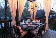 Aménagement Extérieur / Ce tableau regroupe plusieurs idées afin de vous aider à réaliser votre aménagement extérieur :  patios, jardins, picines, aménagements paysagés, meubles d'extérieur, décorations et plus encore.