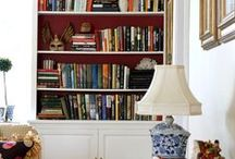 Bookshelf Styling / Bookcase Styling / How To Style a Bookshelf More decorating ideas on http://www.brightboldbeautiful.com/ / by Laura Trevey