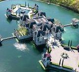 Maisons De Rêve / Parce que nous avons toujours le droit de rêve ~ Ensemble de maison ou de pièce à couper le souffle. (maisons, cuisine, piscine, salle de bain, salle à manger, chambre)