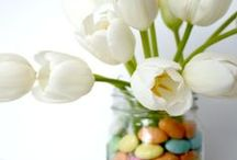 Spring / Sharing Spring decorating ideas and the Colors of Spring lauratrevey.com