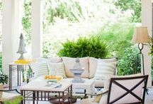 Porch and Patio Ideas / Outdoor Decorating Ideas, Home Decor and Design Inspiration for your Porch and Patio.