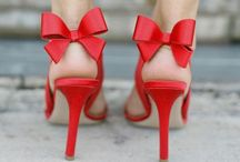 Killer Heels / I've got a shoe problem and I am not afraid to share it with the world!  Be it proper pumps, lacey treats, strappy sandals or ankle booties,  they are all favorites to me! / by Storyboard Wedding