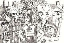 Robin's Doodles / Doodles I doodled 2015-2016