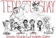 Teddy Tuesday / A new Teddy every Tuesday until I reach 100, read all about it here: http://theartofrobin.com/gallery/teddytuesday/ Enjoy/ Robin