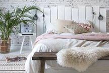 Chambres Inspirantes / Idées et Inspirations pour réaliser votre décor de chambre relaxante et cozy.