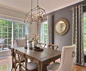 Idées pour la Salle à Manger / Tableau qui rassemble plusieurs idées et inspirations  qui vous aideront à décorer votre salle à manger de rêve.