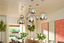 LIGHTING / Light Fixtures, lamps, chandeliers,  / by Sarah George Interior Design