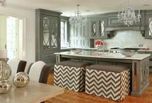 KITCHEN / Kitchen Design, Products, Inspiring Spaces, Cabinets, Countertops, and more.  / by Sarah George Interior Design