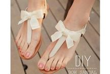 Shoes DIY-Fancy Footwork / Shoes DIY and makeovers for all ages
