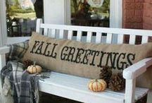 Fall Fun / Fall Decorating ideas, Harvest Decor, Autumn Decor, Fall Food, Fall DIY, Fall Crafts and more / by Danielle Leonard - The Frugal Navy Wife