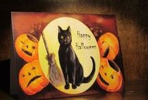 ~halloween tricks and treats~ / can't say i ever liked halloween as a kid...but back then my shadow scared me..lol
