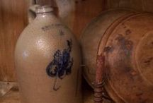 ~crocks and jugs and mason jars~ / i love and collect crocks-wish i had all of these! / by Jeanne Keithley Cateron