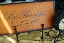 ~time to give thanks~ / i give thanks and praise for everything i have...