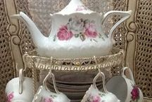 """~a """"cup"""" of tea for two~ / your invited to a tea party...bring your teddy bear!"""