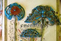 ~vintage hat pins~ / i have several hat pins that were my grandmothers-
