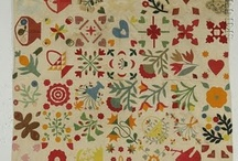 Antique Applique, Album & Sampler Quilts