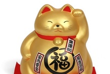 ··⊱ japanese lucky cat / ~~ manekineko 招き猫  ~~ lucky cat ~~ / by ᶫᵒᵛᵉᵧₒᵤ  ~ Julia