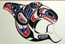 Orcas - Native Art