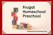 Homeschool - PreSchool / Homeschooling Preschool: Curriculum ideas, school room organization, keeping a portfolio, unit studies, and much more!
