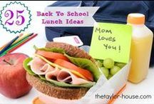 Food - Lunch / Make & take lunch ideas, healthy midday meal recipes, and lunch ideas for picky eaters / by Danielle Leonard - The Frugal Navy Wife