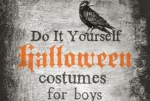 Boys: Halloween Costumes / DIY Halloween Costumes for Boys! Boy's Only! / by Amy Fennell