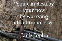 ~Janis Joplin~ / I think Janis was highly misunderstood-I think that's the connection between us- I always feel misunderstood.