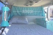 """camper vans / Van conversions & styling out a van for van camping, aka """"Vamping"""""""